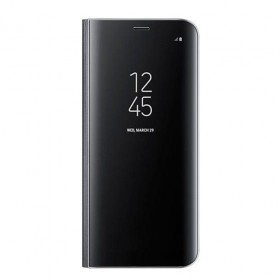 SAMSUNG CLEAR VIEW GALAXY S8  PLUS BLACK-121015