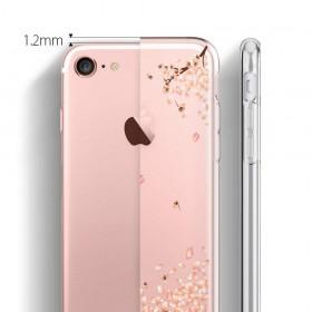 Futerał do iPhone 5 5S SE Goospery Mercury iJelly + Szkło Hartowane