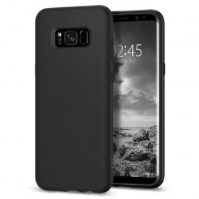 SPIGEN LIQUID CRYSTAL GALAXY S8 MATTE BLACK-120122