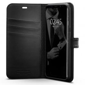 SPIGEN WALLET S GALAXY S8 BLACK-120206