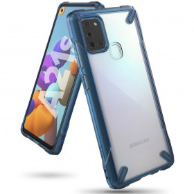 RINGKE FUSION X GALAXY A21S SPACE BLUE