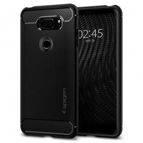 SPIGEN RUGGED ARMOR LG V30 BLACK-123797