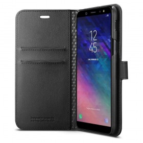 SPIGEN WALLET S GALAXY A6 2018 BLACK-129747