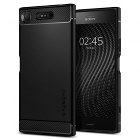 SPIGEN RUGGED ARMOR SONY XPERIA XZ1 BLACK-123966