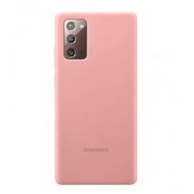 Futerał Samsung Note 20 Ultra Silicone Cover Czarny