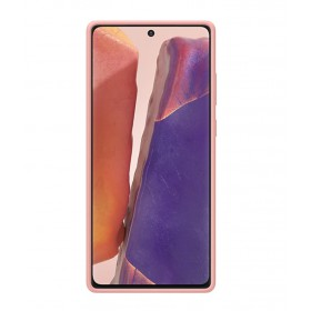 Futerał Samsung Note 20 Silicone Cover Miedziany
