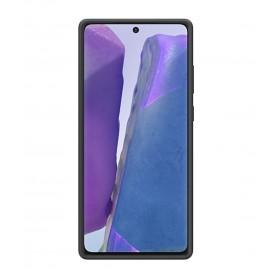 Futerał Samsung Note 20 Silicone Cover Czarny