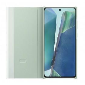 Futerał Samsung Note 20 Clear View Cover Zielony