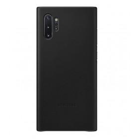 Futerał Samsung Note 10+ Leather Cover Czarny