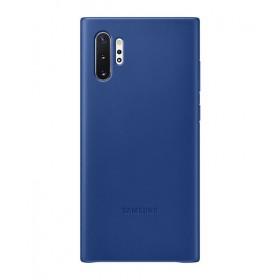 Futerał Samsung Note 10+ Leather Cover Niebieski