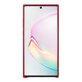 Futerał Samsung Note 10+ Leather Cover Czerwony