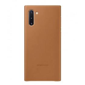 Futerał Samsung Note 10 Leather Cover Brązowy