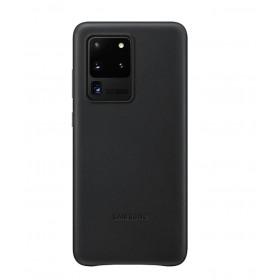Futerał Samsung S20+ Leather Cover Czarny