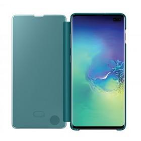 Futerał Samsung S10+ G975 Clear View Cover Zielony