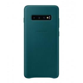 Futerał Samsung S10+ Leather Cover Czarny