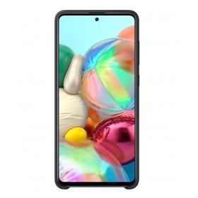 Futerał Samsung A71 Silicone Cover Czarny