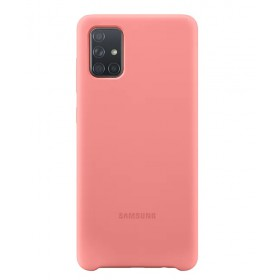Futerał Samsung A71 Silicone Cover Różowy