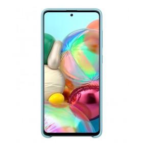Futerał Samsung A71 Silicone Cover NIebieski