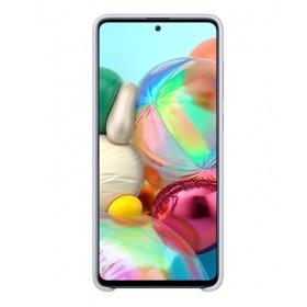 Futerał Samsung A71 Silicone Cover Biały