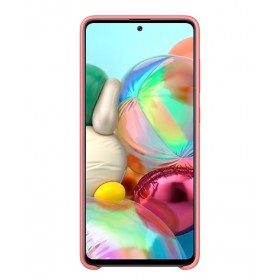 Futerał Samsung A51 Silicone Cover Różowy