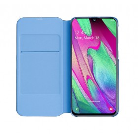 Futerał Samsung A40 Wallet Cover Czarny