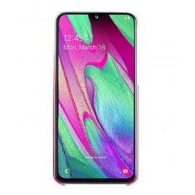 Futerał Samsung A40 Gradation Cover Różowy