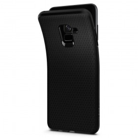 SPIGEN LIQUID AIR GALAXY A8 2018 MATTE BLACK
