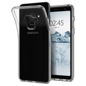 SPIGEN LIQUID CRYSTAL GALAXY A8 2018 CRYSTAL CLEAR-125193