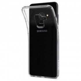 SPIGEN LIQUID CRYSTAL GALAXY A8 2018 CRYSTAL CLEAR