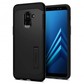 SPIGEN SLIM ARMOR GALAXY A8 2018 BLACK-125340