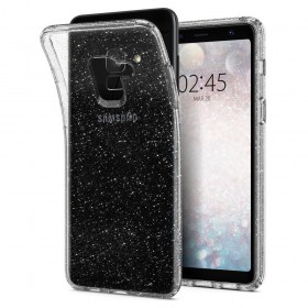 SPIGEN LIQUID CRYSTAL GALAXY A8 2018 GLITTER QUARTZ