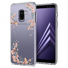 SPIGEN LIQUID CRYSTAL GALAXY A8 2018 BLOSSOM NATURE-125750