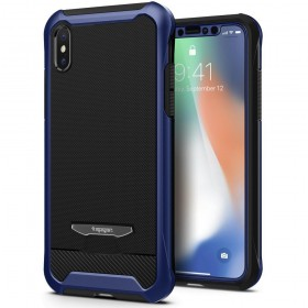 SPIGEN REVENTON IPHONE X/10 METALLIC BLUE-125765