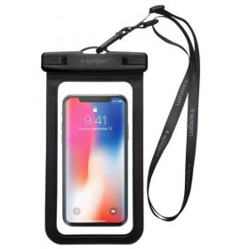 SPIGEN A600 UNIVERSAL WATERPROOF CASE BLACK-125923