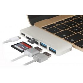Adapter Stilgut USB Hub z funkcją ładowania