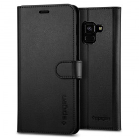 SPIGEN WALLET S GALAXY A8 2018 BLACK-126182