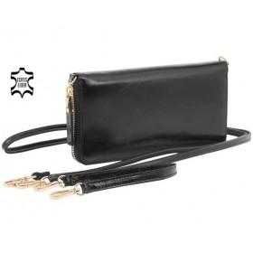 Torba i portfel 2 w 1 - black vintage