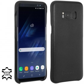 Etui Samsung S8 Plus - Cover, black nappa