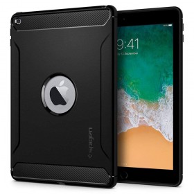 SPIGEN RUGGED ARMOR IPAD 9.7 2017/2018 BLACK-130133