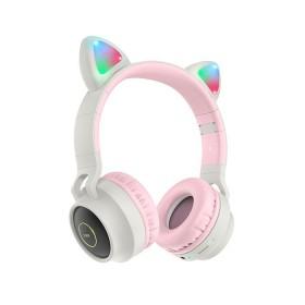 HOCO W27 CAT EAR WIRELESS HEADPHONE GREY