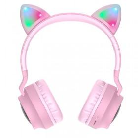 SŁUCHAWKI BEZPRZEWODOWE HOCO W27 CAT EAR
