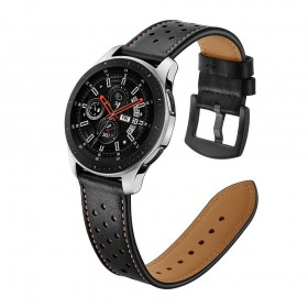 PASEK TECH-PROTECT LEATHER SAMSUNG GALAXY WATCH 3 45MM