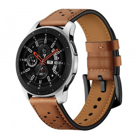 TECH-PROTECT LEATHER SAMSUNG GALAXY WATCH 3 41MM BROWN