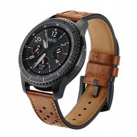 TECH-PROTECT LEATHER SAMSUNG GEAR S3 BROWN