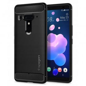 SPIGEN RUGGED ARMOR HTC U12  PLUS MATTE BLACK-130274