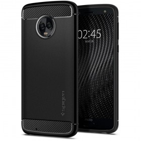 SPIGEN RUGGED ARMOR MOTOROLA MOTO G6 PLUS BLACK-128178