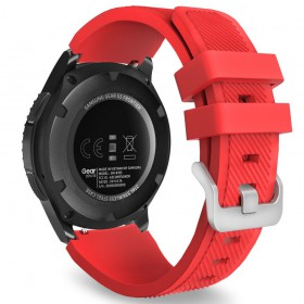 TECH-PROTECT SMOOTHBAND SAMSUNG GALAXY WATCH 46MM RED