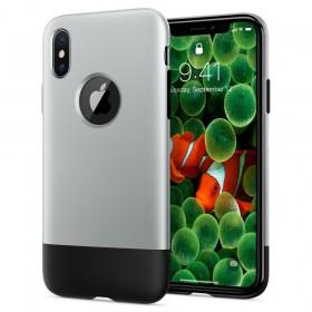 SPIGEN CLASSIC ONE IPHONE X/10 ALUMINUM GRAY-129526