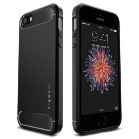 SPIGEN RUGGED ARMOR IPHONE 5S/SE BLACK