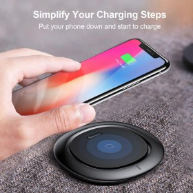 BASEUS UFO WIRELESS CHARGER BLACK